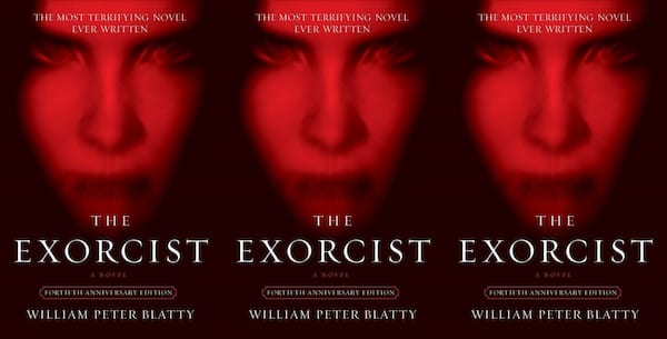 horror-books-that-became-movies, the exorcist by william peter blatty, books
