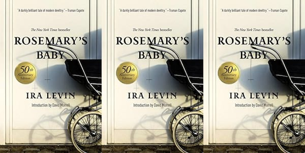 horror-books-that-became-movies, rosemary's baby by ira levin, books