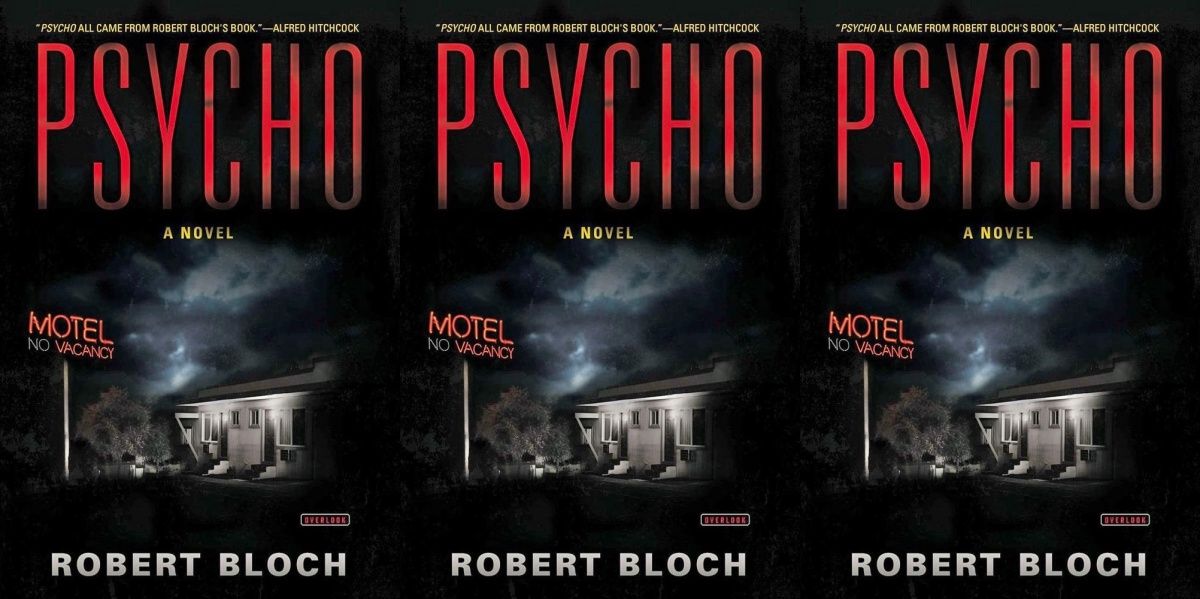 horror-books-that-became-movies, psycho by robert bloch, books