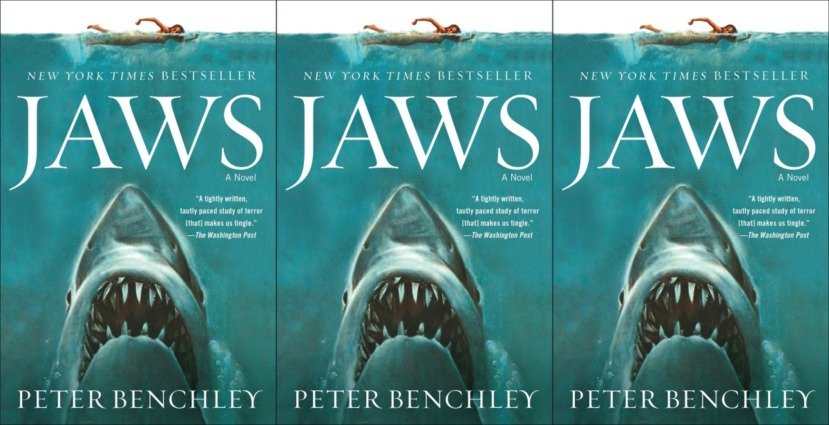 horror-books-that-became-movies, jaws by peter benchley, books