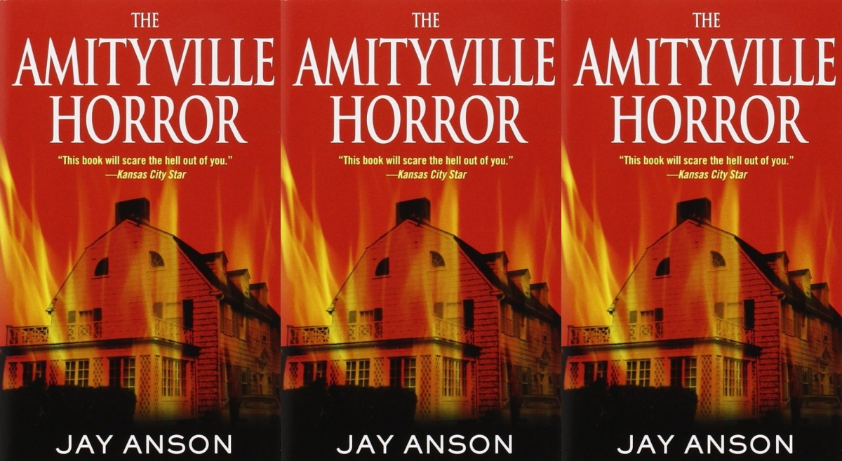 horror-books-that-became-movies, the amityville horror by jay anson, books