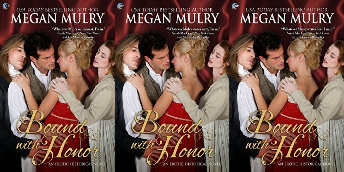 bisexual books, bound with honor by megan mulry, books