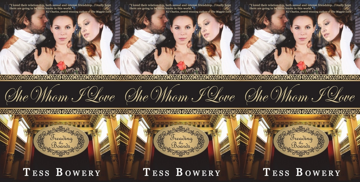 bisexual books, she whom i love by tess bowery, books