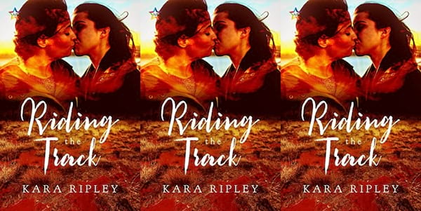 bisexual books, riding the track by kara ripley, books