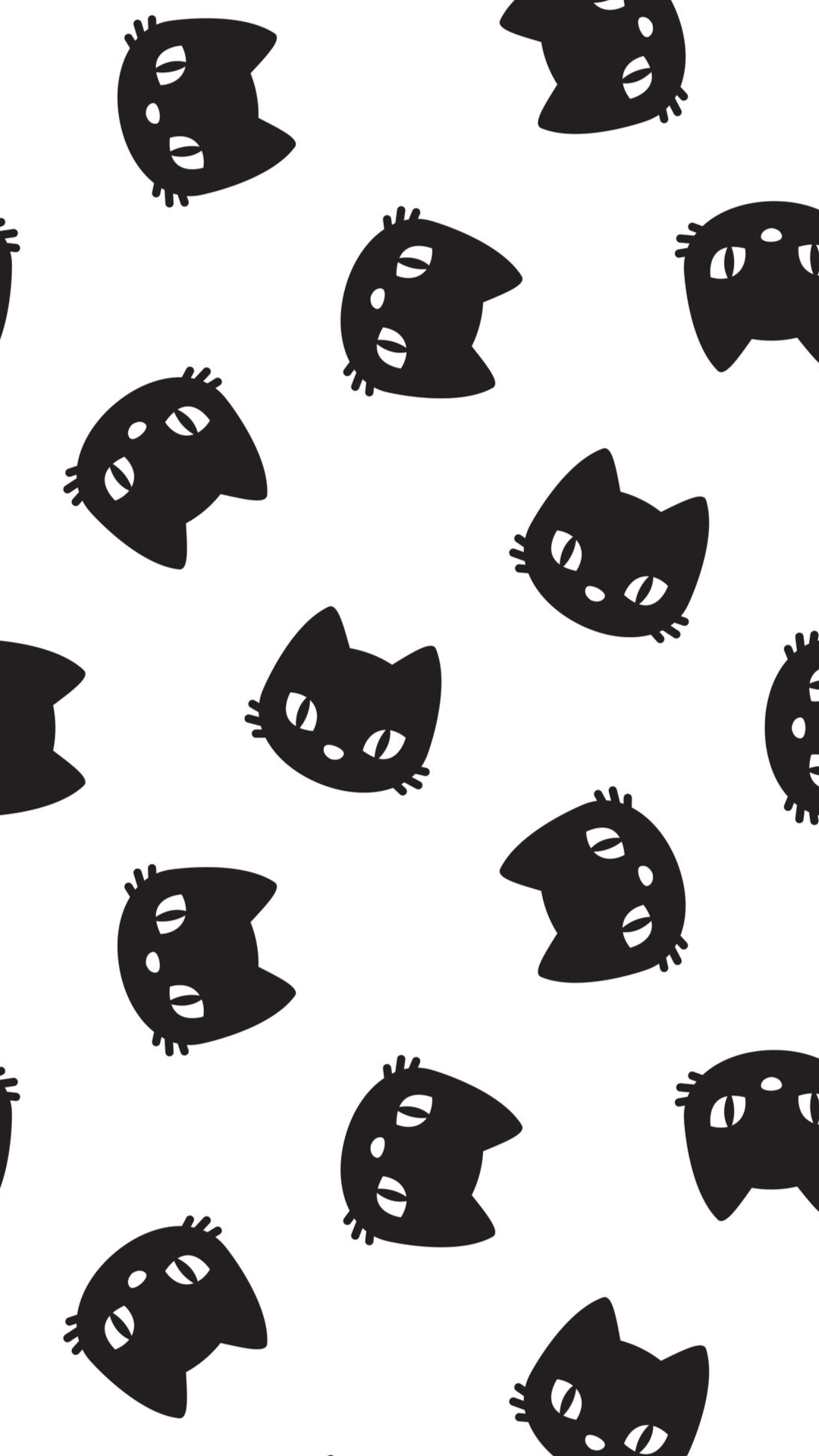 cat vector seamless Pattern Halloween isolated wallpaper background cartoon - Vector