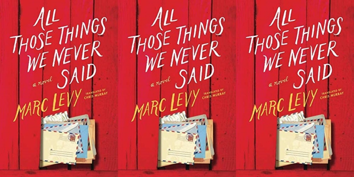 authors-from-outside-the-us, all those things we never said by marc levy, books