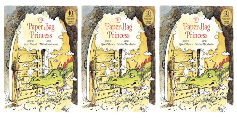 the paper bag princess children's book