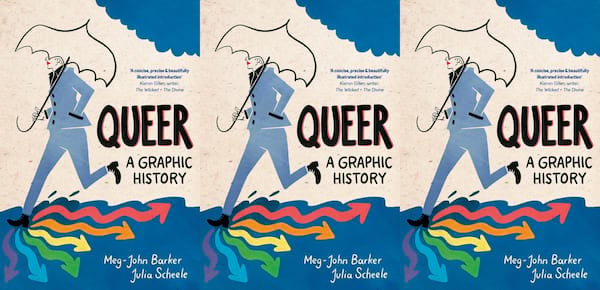 lgbt history month books, queer a graphic history by dr meg-john barker, books