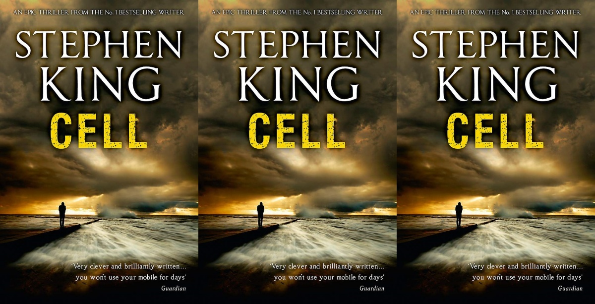zombie books, cell by stephen king, books