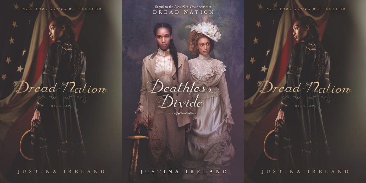 zombie books, dread nation by justina ireland, books