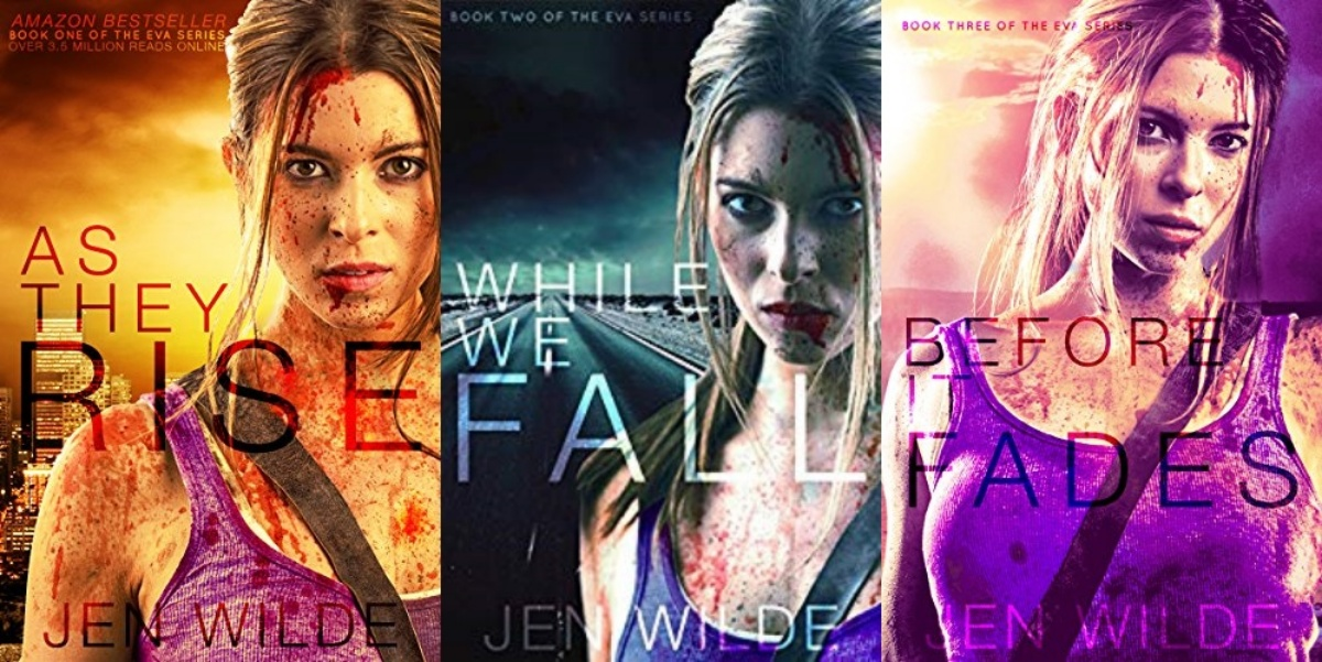 zombie books, the eva series by jen wilde, books