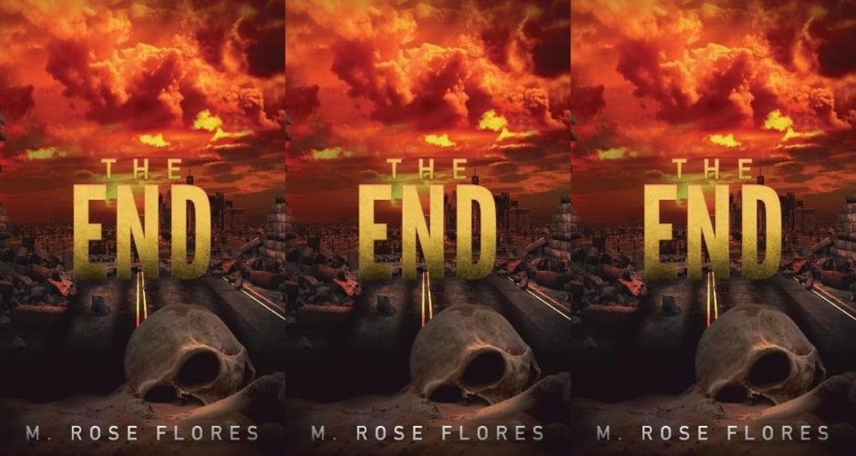 zombie books, the end by m rose flores, books