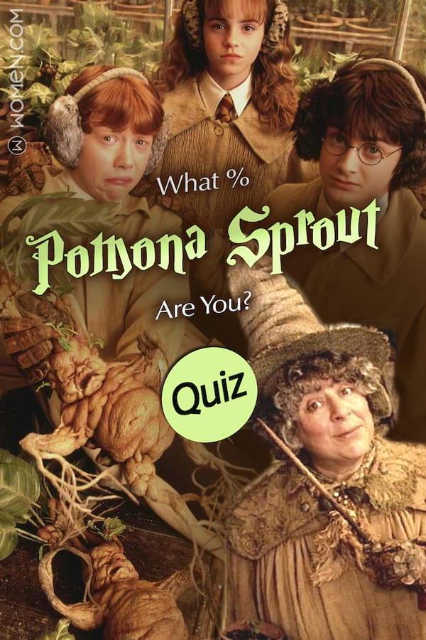 Hogwarts Quiz What Pomona Sprout Are You Quiz Bliss Com