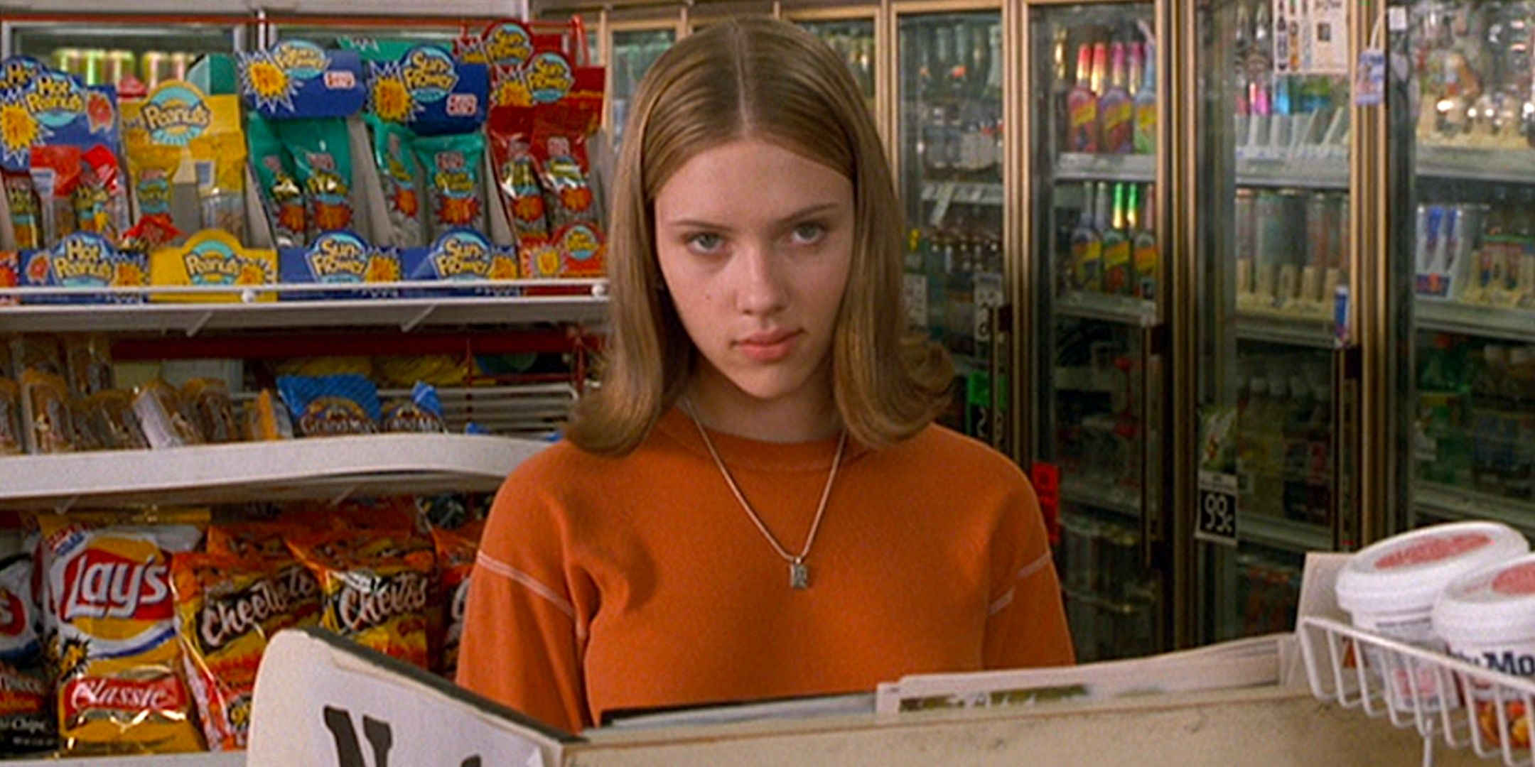 scarlett johansson, ghost world, hero, shocked, surprised, thinking, liz