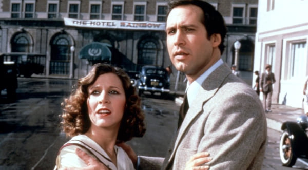 Chevy Chase, carrie fisher, 1981, Under the Rainbow, movies