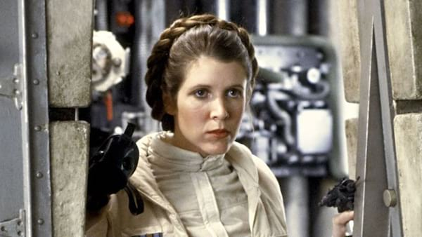 carrie fisher, 1980, the empire strikes back, star wars, movies