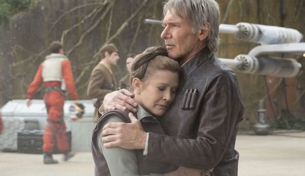 2015, harrison ford, carrie fisher, the force awakens, stars wars, movies