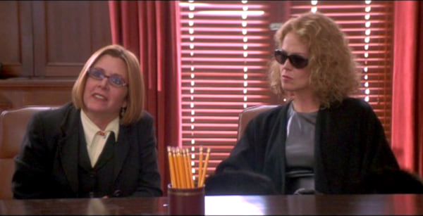 Sigourney Weaver, carrie fisher, 2001, heartbreakers, movies