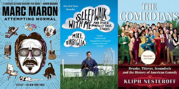 books about stand up comedy
