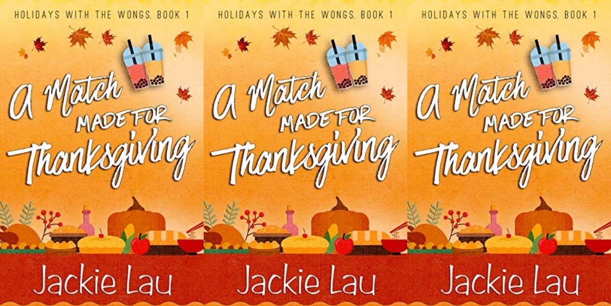autumn-romance-novels, a match made for thanksgiving by jackie lau, books