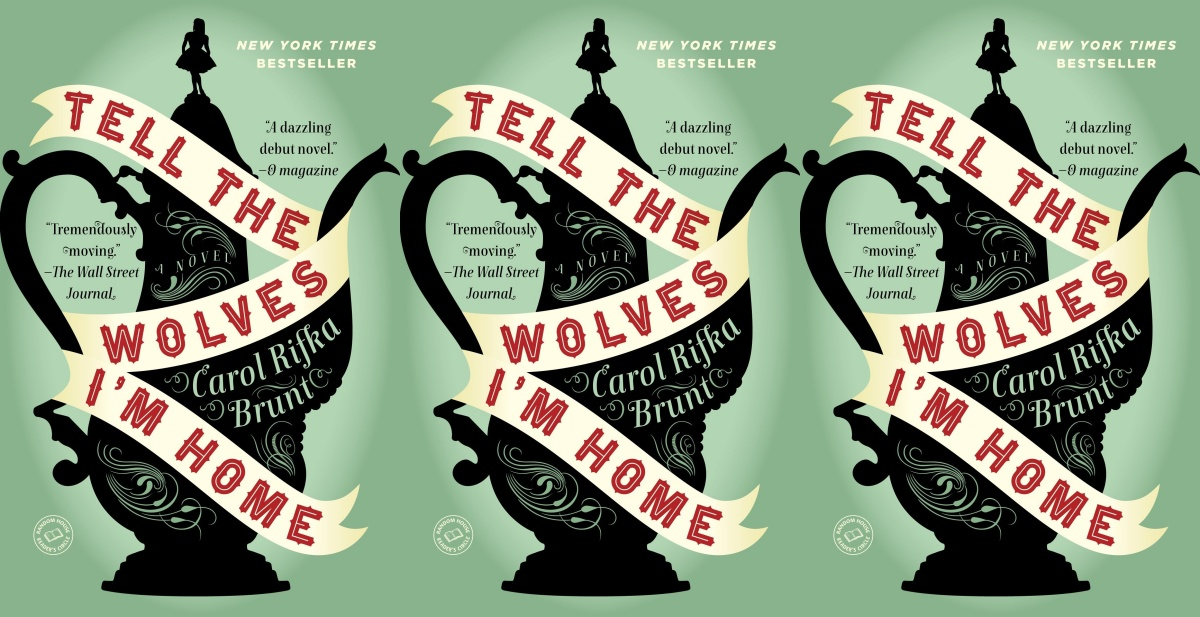 book club books, tell the wolves i'm home by carol rifka brunt, books