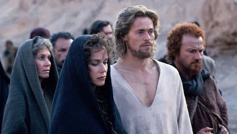 movies, The Last Temptation of Christ, 1988