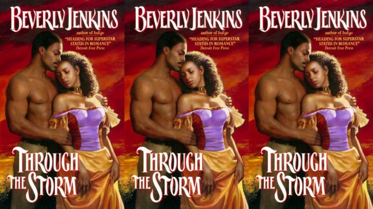 emotional romance novels, through the storm by beverly jenkins, books