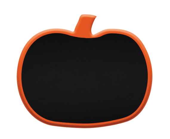 Pumpkin Chalkboard Easel Sign from Party City