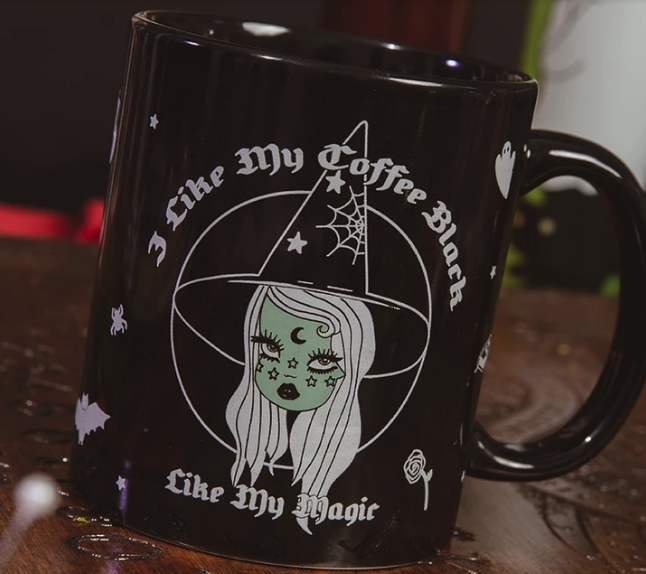Black Magic Mug from Valfré