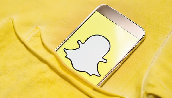 snapchat iphone tucked into bed