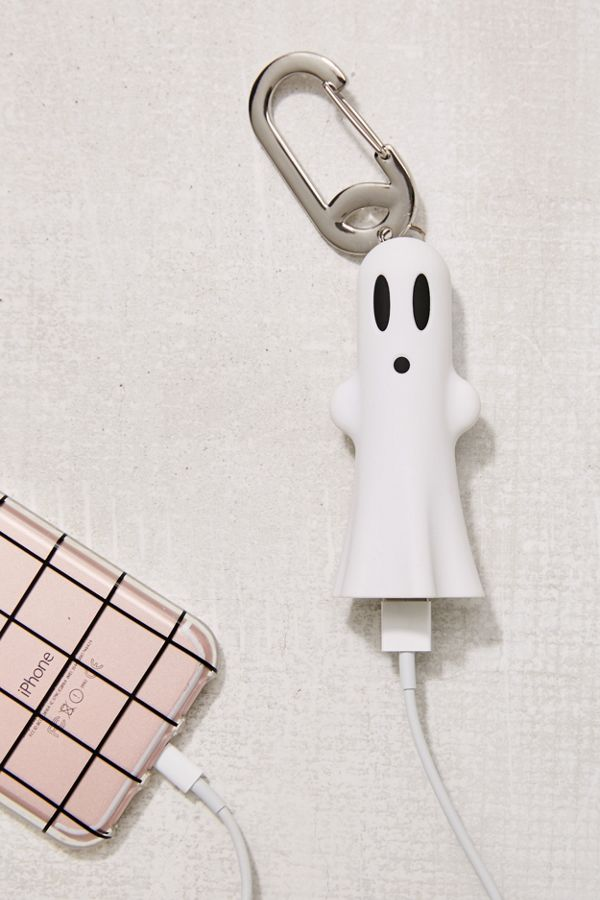 Glow-in-the-Dark Ghost Portable Power Bank from Urban Outfitters