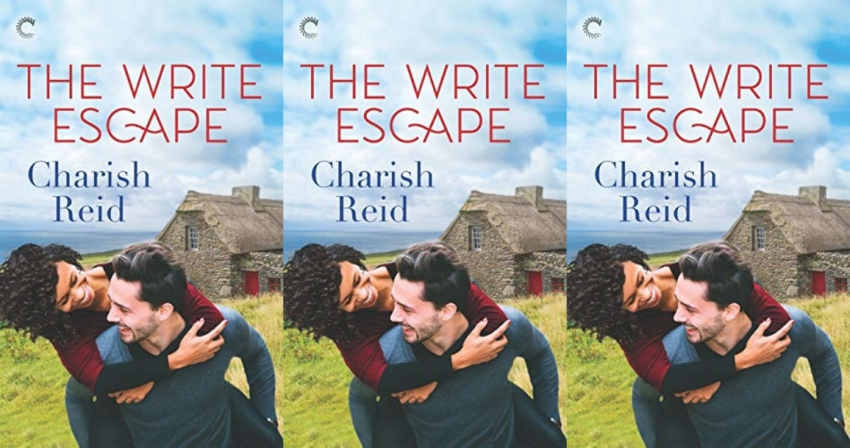 fluffy romance novels, the write escape by charish reid, books