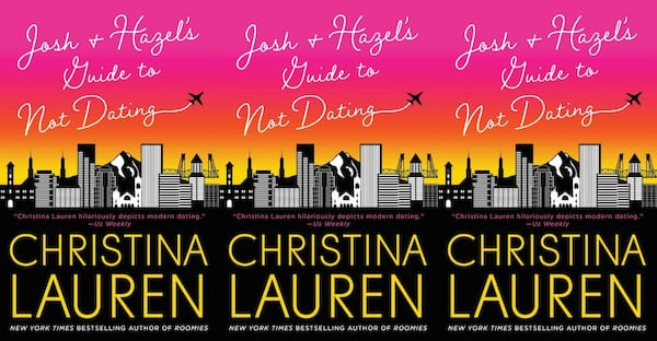 fluffy romance novels, josh and hazel's guide to not dating by christina lauren, books