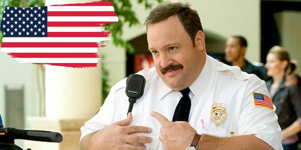 mall cop, cop, police, law, lawyer, Top result