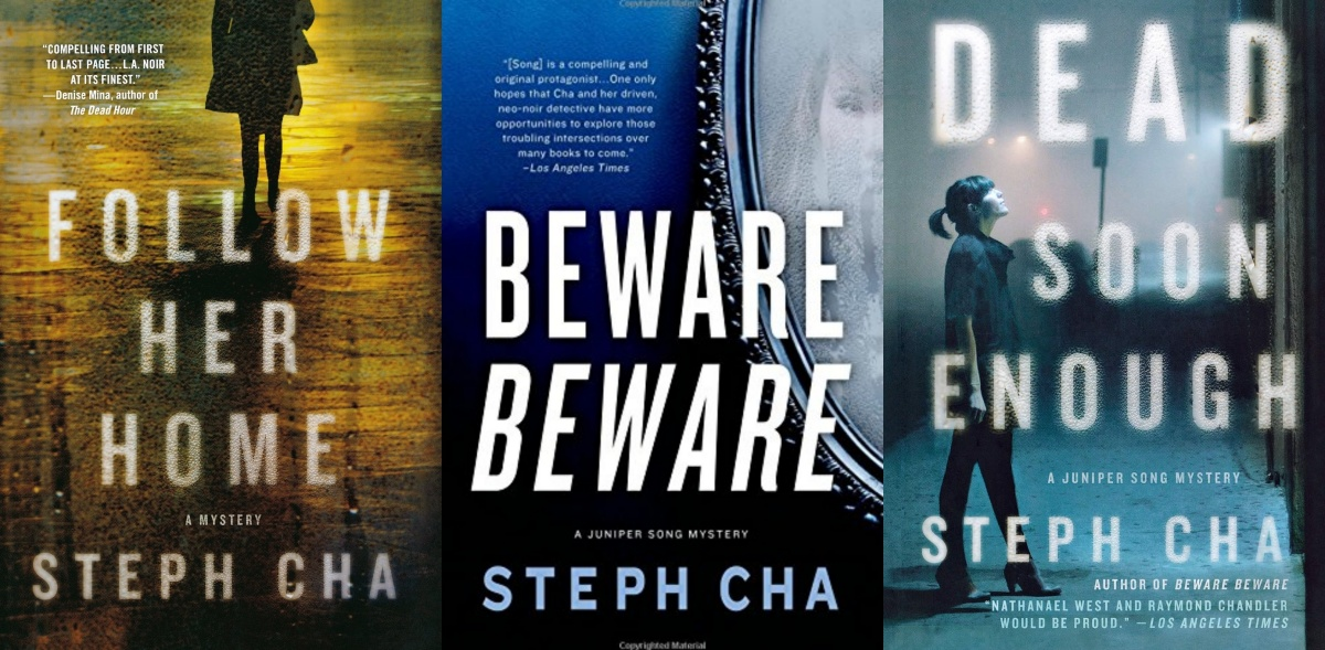 women sleuths, juniper song mysteries by steph cha, books