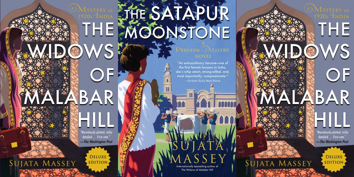 women sleuths, perveen mistery series by sujata massey, books
