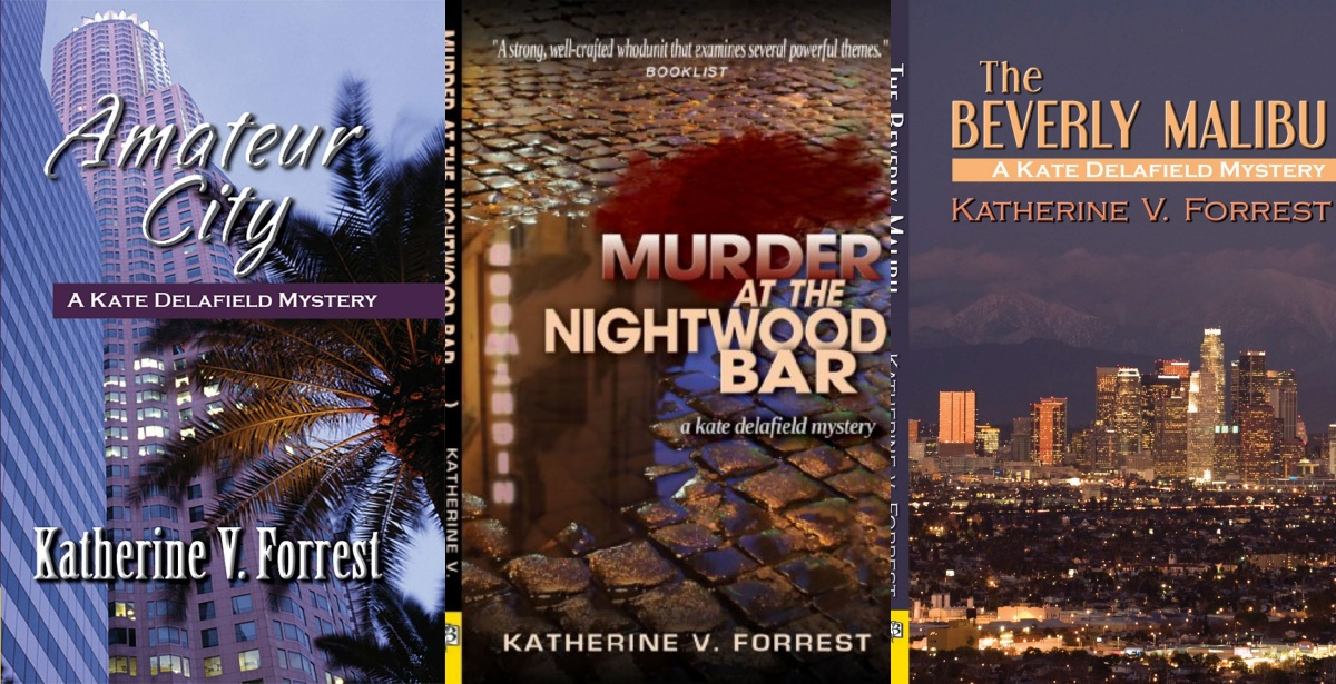 women sleuths, kate delafield series by katherine forrest, books