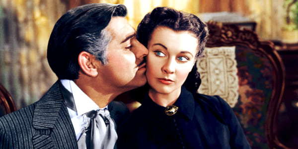 movies, gone with the wind, 1939, Clark Gable, Vivien Leigh, AMC