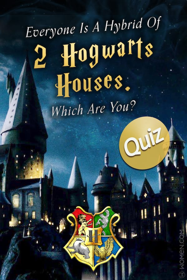 Quiz Everyone Is A Hybrid Of Two Hogwarts Houses Which Are You