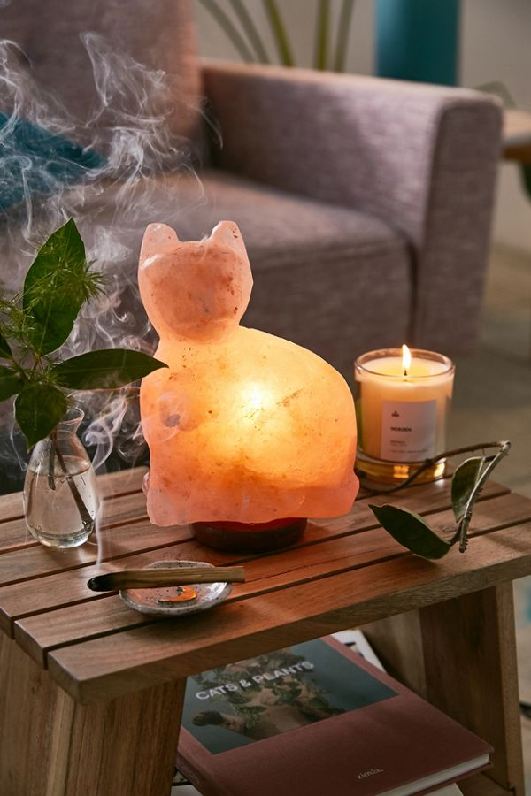 Cat Himalayan Salt Lamp from Urban Outfitters