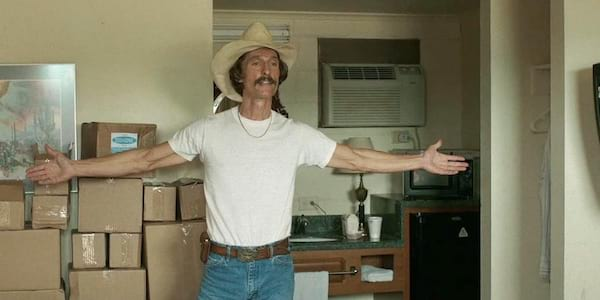 Matthew McConaughey, 2013, dallas buyers club, movies