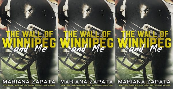 angsty romance novels, the wall of winnipeg and me by mariana zapata, books