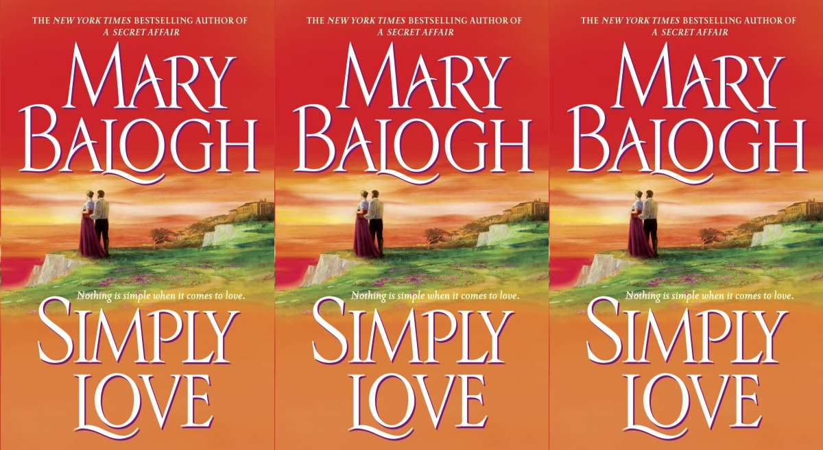 angsty romance novels, simply love by mary balogh, books
