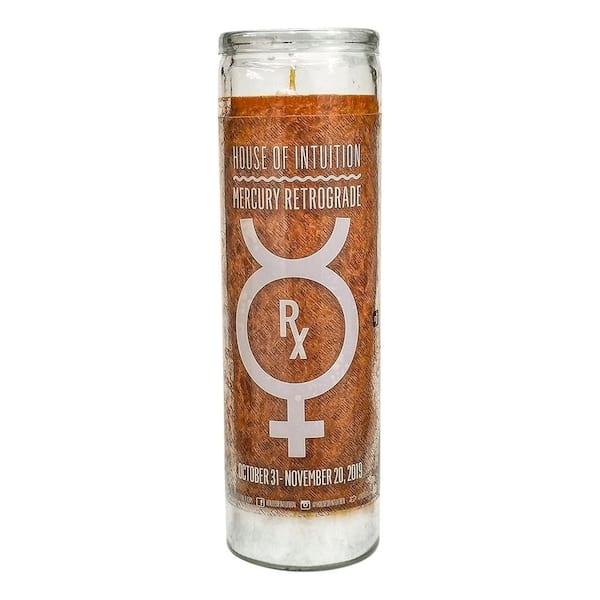Mercury Retrograde Magical Candle from House of Intuition