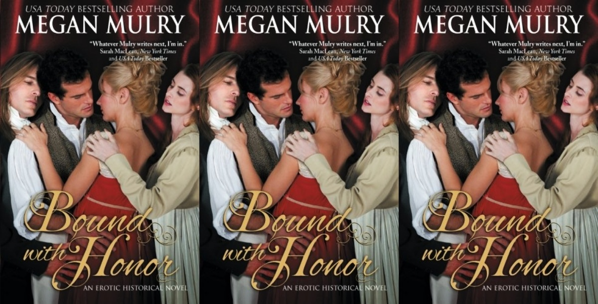 queer historical romance novels, bound with honor by megan mulry, books