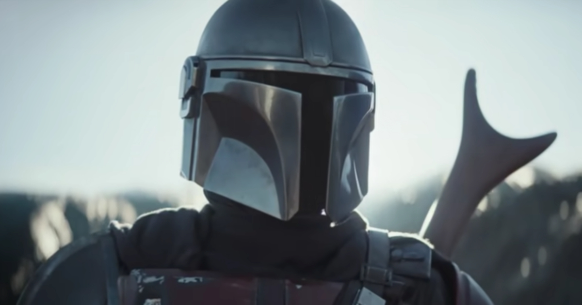 Pedro Pascal as The Mandalorian in the trailer for the Disney+ series