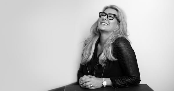 Black and white headshot of Spa Girl Cocktails CEO Alisa Beyer