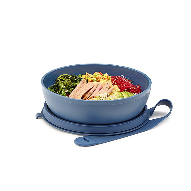Portable Plastic Lunch Bowl from UncommonGoods