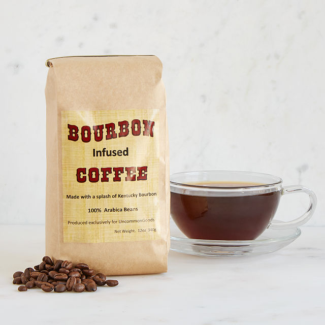 Bourbon-Infused Coffee from UncommonGoods