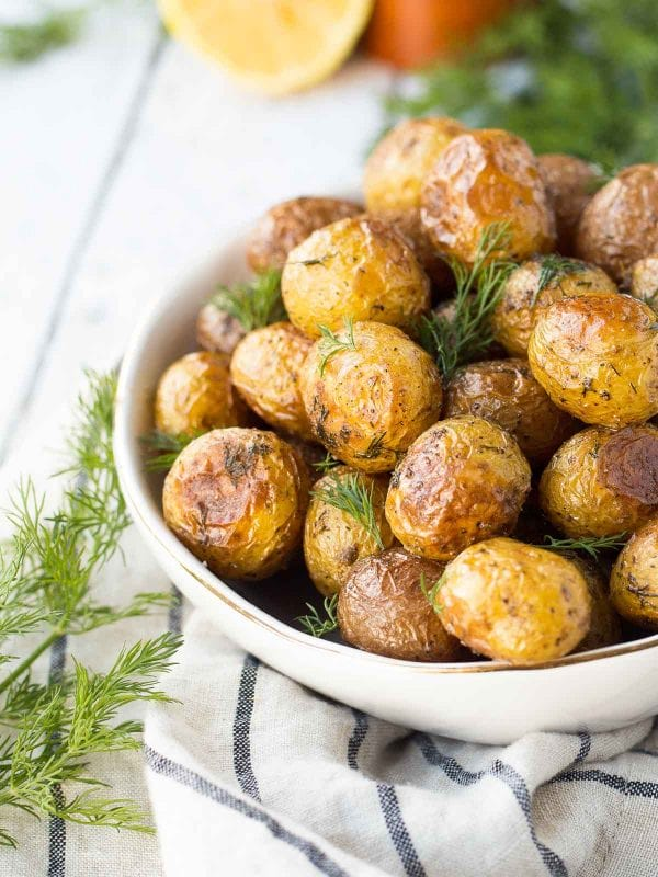 Dill Roasted Potatoes With Lemon recipe from Rachel Cooks